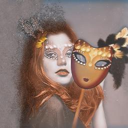 freetoedit carnival party mask portrait ircmardigras