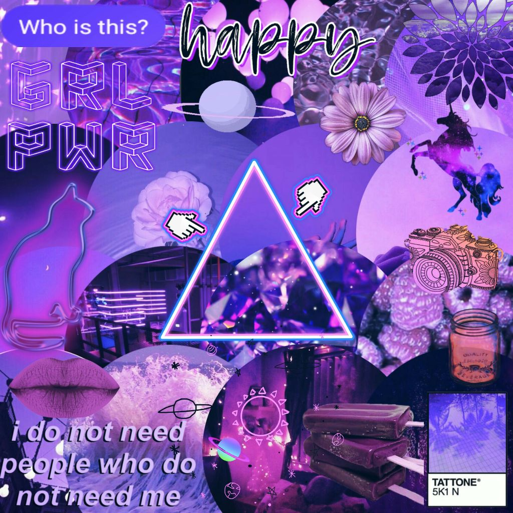 Purple Background Freetoedit Aesthetic Tumblr Aesth