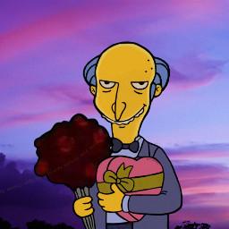 simpsons love romantic meme draw