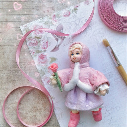 flatlay doll dolls spring springday