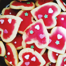 freetoedit cookies candy hearts heartshape