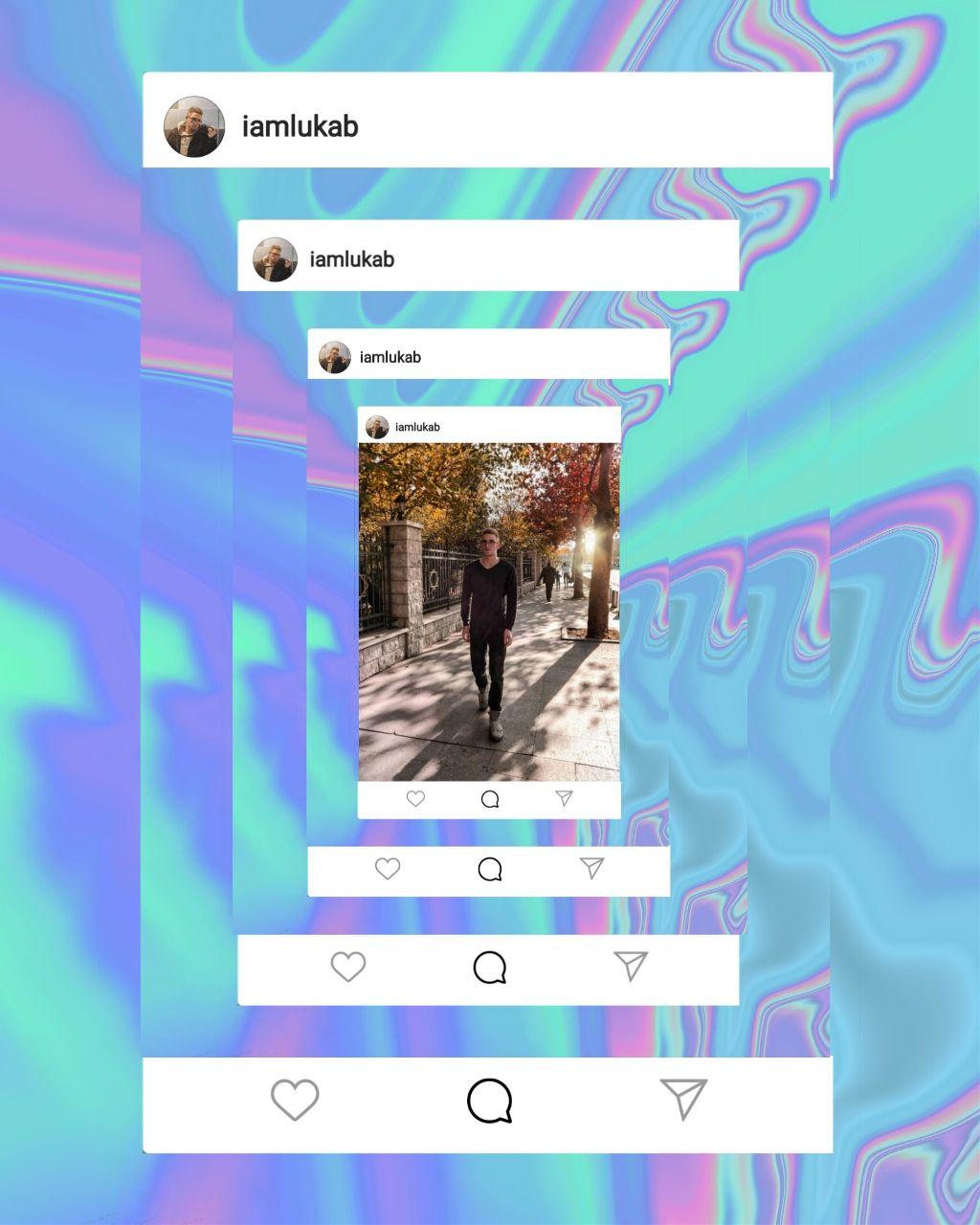 https://youtu.be/RaTLYi_HvMI 👈 TUTORIAL 😊😊😊😊 #freetoedit #instagram #picsart #photo #holographic @picsart