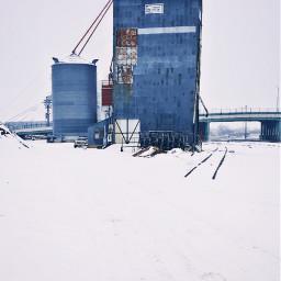 snow winterscenes buildings countryside picsart