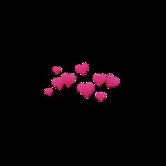heart hearts love pink amor freetoedit