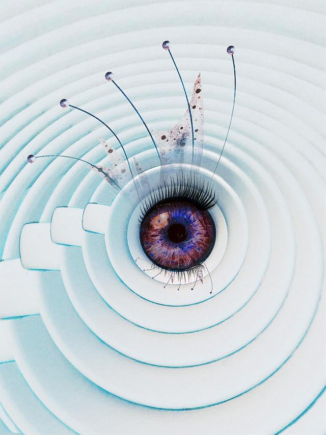 #freetoedit Fantasy Eye #photomanipulation #eye #fairyeye #contemporaryart