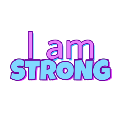 iamstrong strong text freetoedit