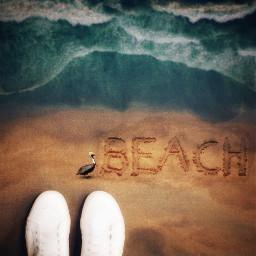 springshoes becreativeonchallenge photomanipulation beach dodgereffect