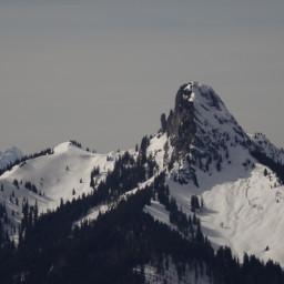 mountain alpins snow winter