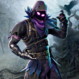 freetoedit fortnite raven battleroyale skin