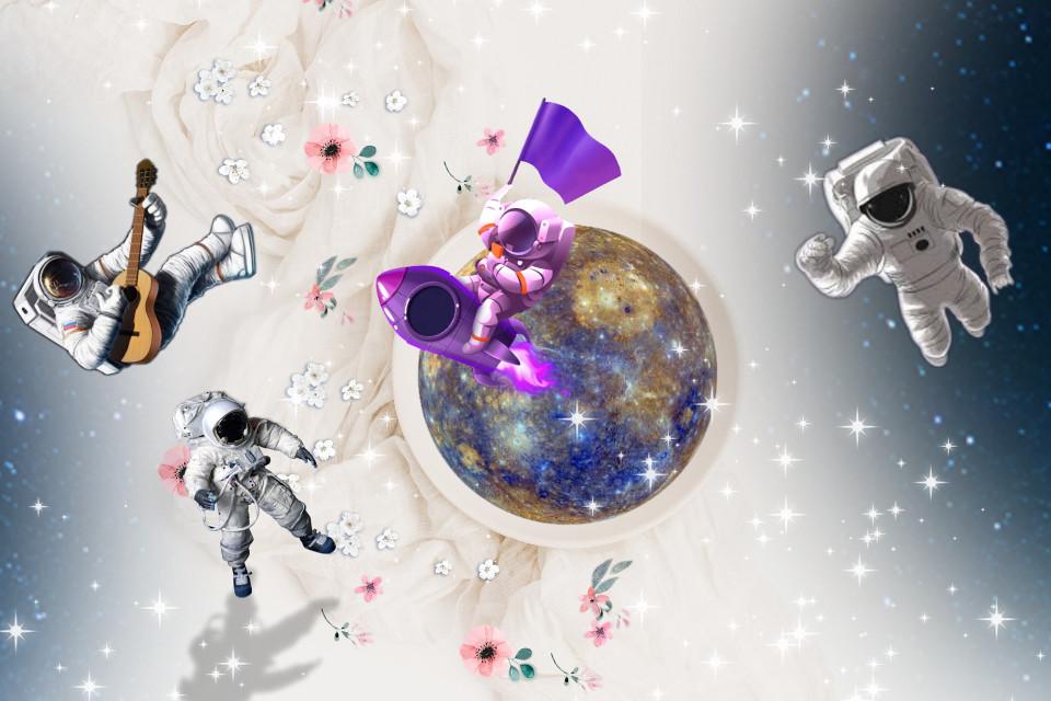 #freetoedit astronout @picsart #galaxy #astronaut #astronot #bumi