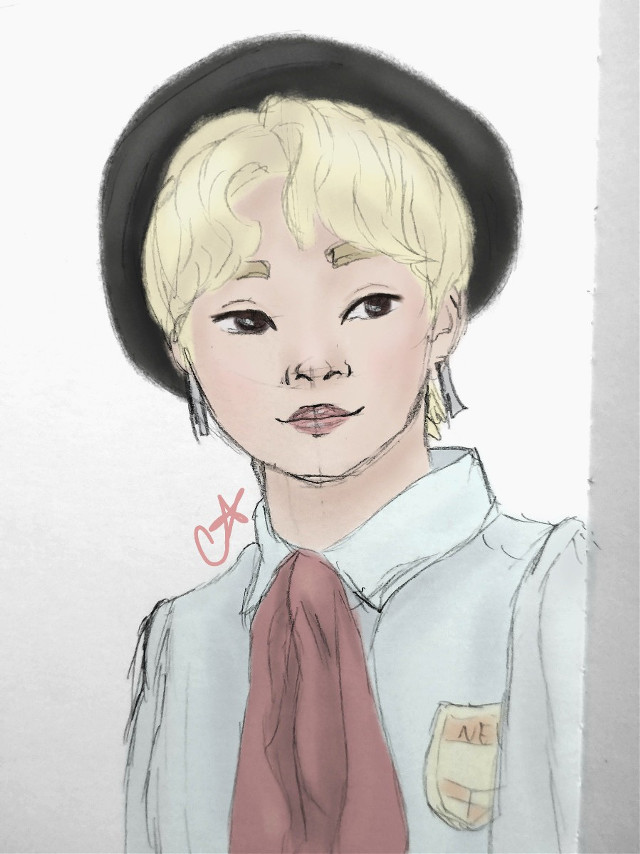 Practicing my boys again and decided to color this one It's New from The Boyz   #freetoedit #kpopfanart #kpop #art #drawing #myart #mydrawing #fanart #theboyz #new #theboyznew