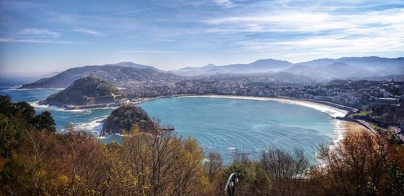 #donostia #sansebastian #beach #town #landscape  #freetoedit