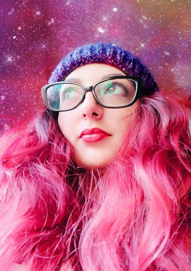 #freetoedit #pink #me #bigeyes #pinkhair #cute