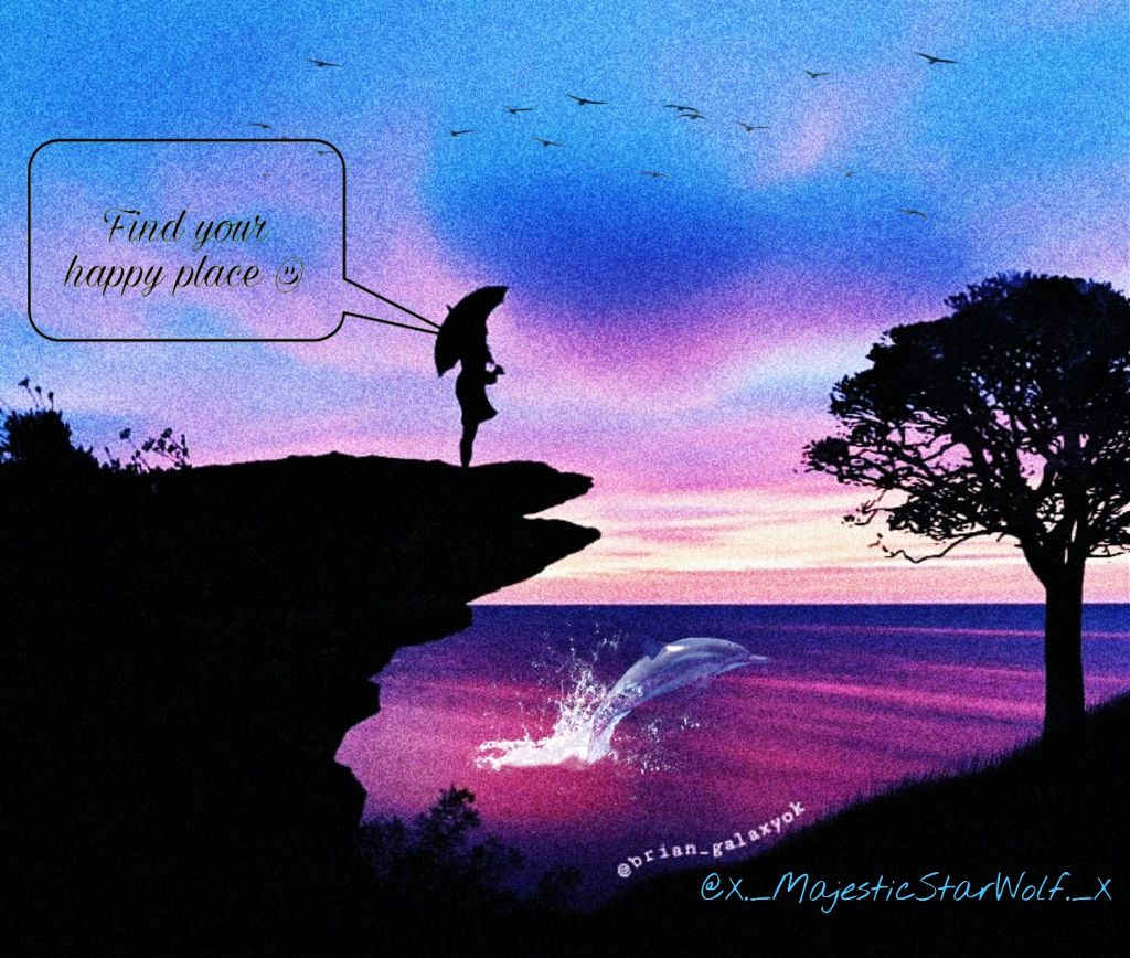 "#freetoedit #remixit ""Find your happy place :)"""