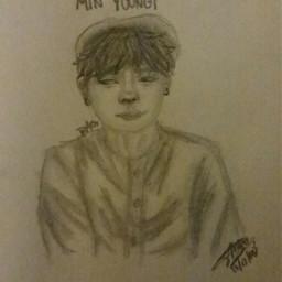 minyoongi fanart bts drawingrequest