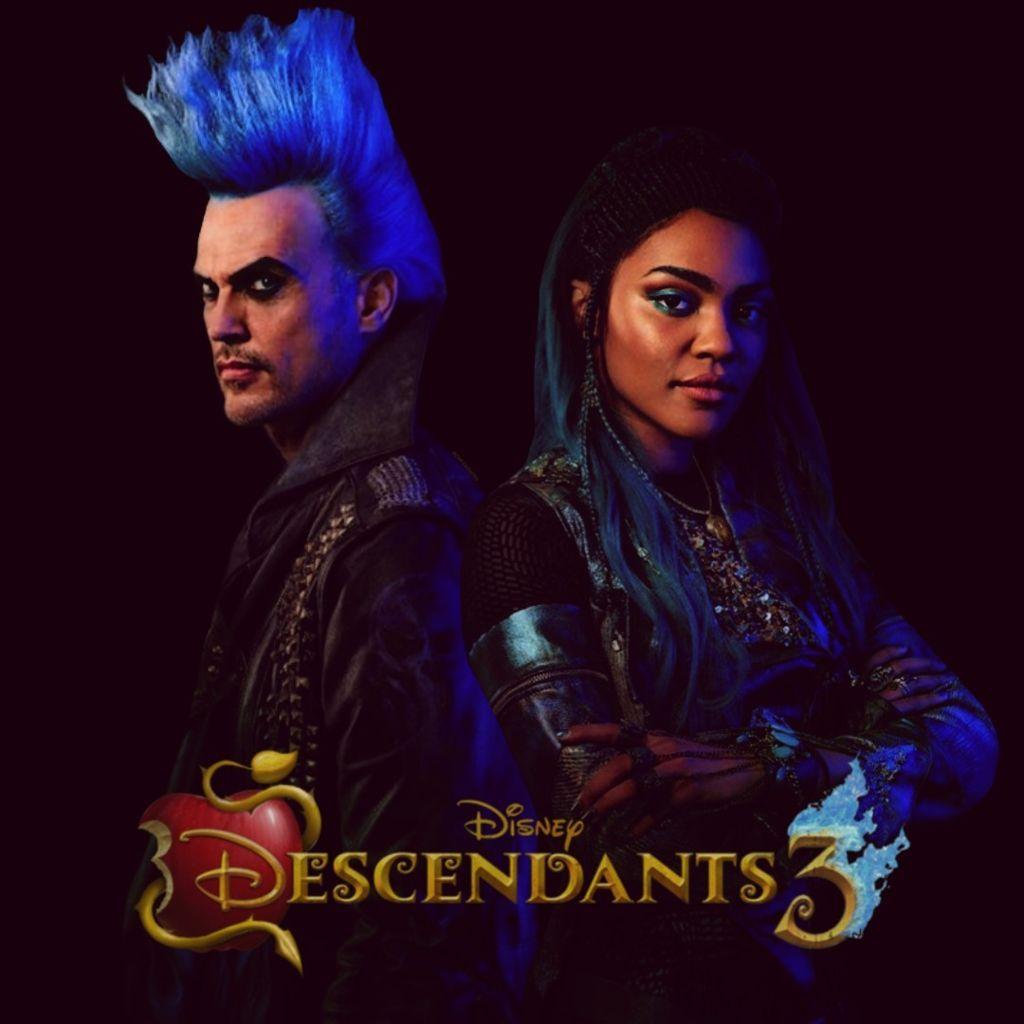 descendants3 evil uma hades descendants disney 2019 new