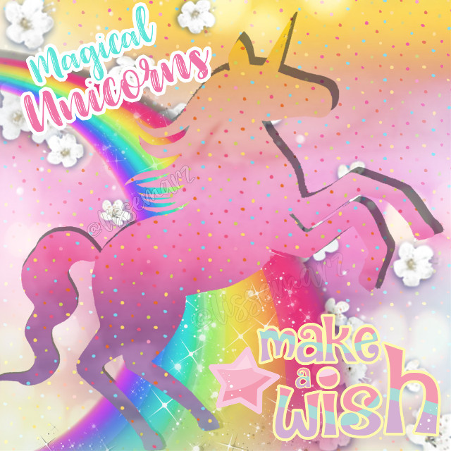 Unicorn ❤️😍   #freetoedit #background #backgrounds #unicornbackground #Unicorn #magical #makeawish #colourful