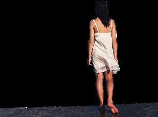 ftesticker woman girl walk walking freetoedit