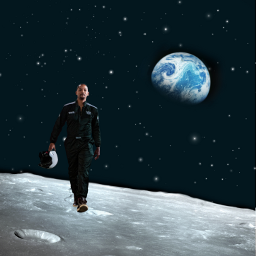 freetoedit willsmith moon earth stars ecwillsmithsbucketlist whereswill