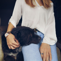 dog girl hair photo photography freetoedit