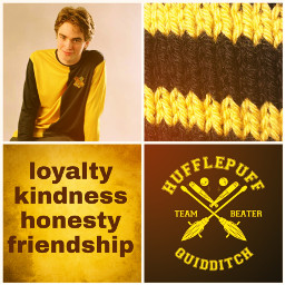 freetoedit hufflepuff loyalty kindness friendship