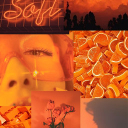 freetoedit orange naranjo aesthetic tumblr