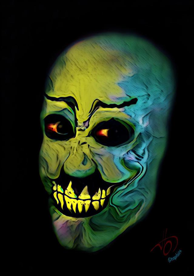 #tbgraphics #myart #clown #scaryman #scary #horrorart #evil #evilclown