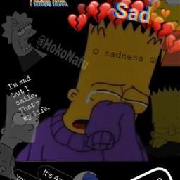 sad negro triste sadness cry freetoedit