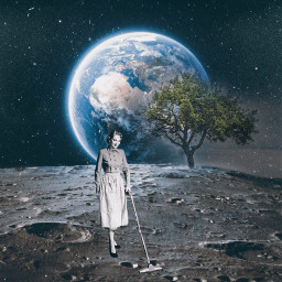 freetoedit earth space moon cleaning
