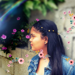 freetoedit springtime girlflower helptoedit gardenflowers