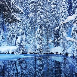 iceblue tirol water snowy snow2019