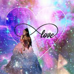 freetoedit infinity love trueloveneverends arianagrandeinfinity