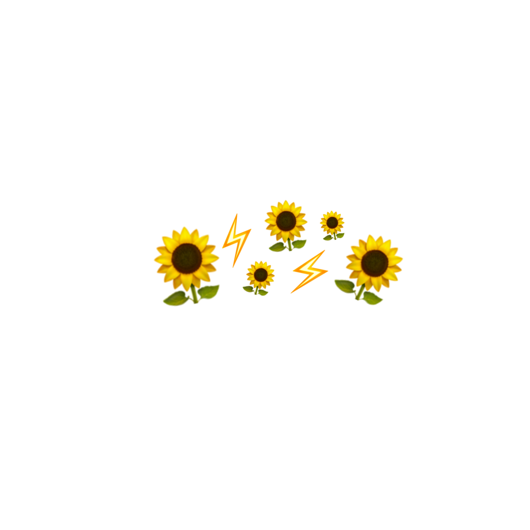 Yellow Flowers Png Aesthetic