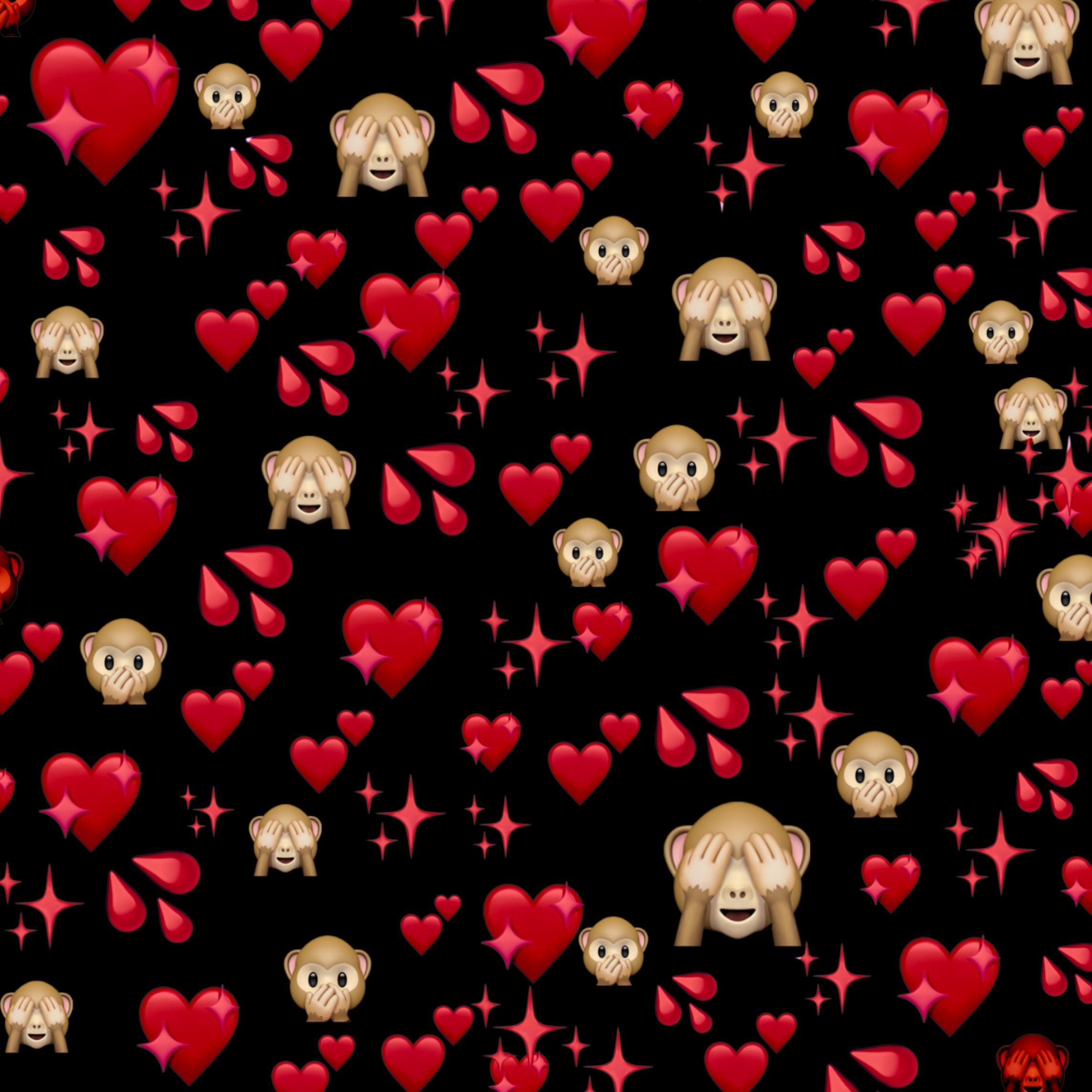 фотки со смайлами сердечками коробке