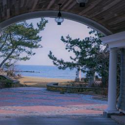freetoedit outdoorshots archway ocen