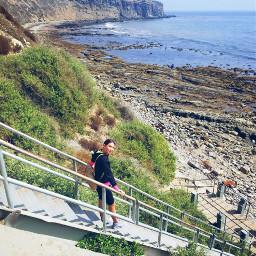 freetoedit myoriginalphoto stairs beach socal scenic pcstairways