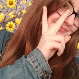 girl selfie kpoper yellow tumblr freetoedit