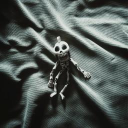 myphotography skeleton skull dark toy freetoedit