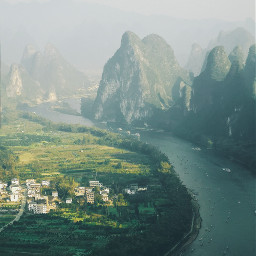 guilin mountains travel