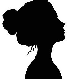 freetoedit silhouette girly people picsart