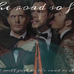 freetoedit supernatural teamfreewill roadsofar