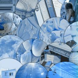 aesthetic blue background premade ocean freetoedit