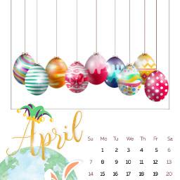 freetoedit april ircaprilcalendar aprilcalendar