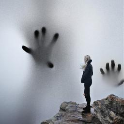 freetoedit cloud foggy horror hands ircfoggyday