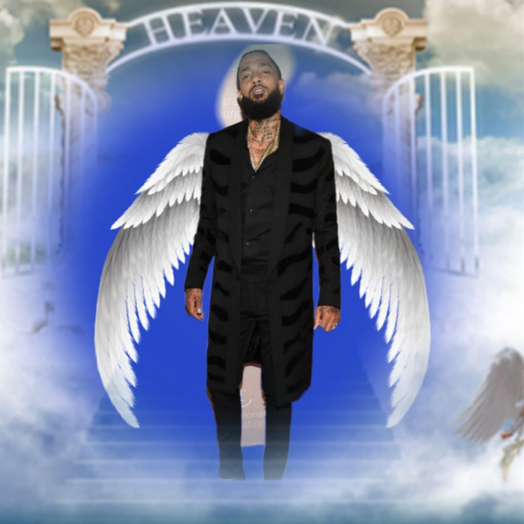 Nipsey Hussle rip - Image by Marquice
