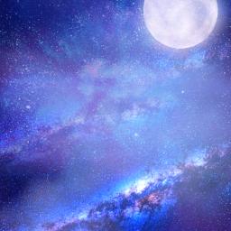 freetoedit background stars nebula galaxy