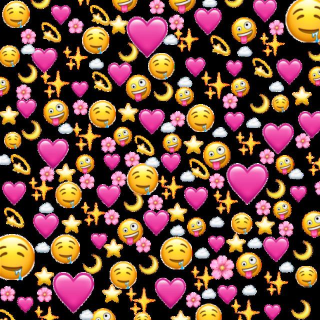 #heart #love #iphone #emoji #background