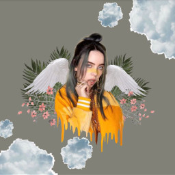 freetoedit billieeilish outline