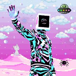 freetoedit pixel pixelated rockmadethat 8bit