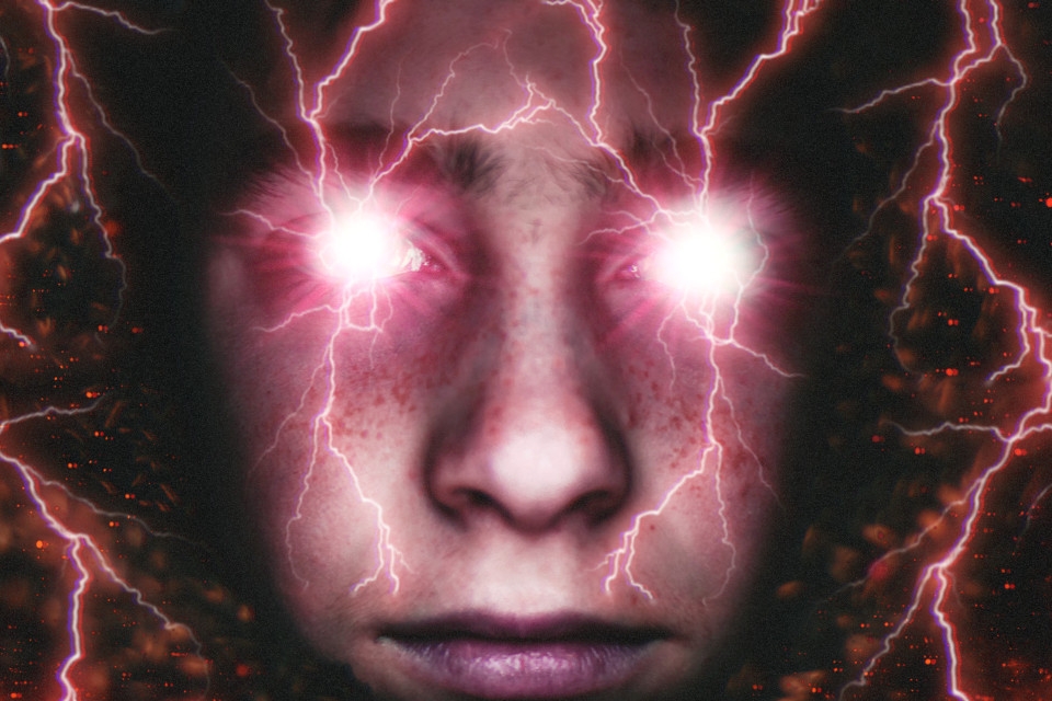 #freetoedit #eyes #light #glare #lightning #bolt #surreal #red #picsart #face #manipulation #photography #splatter #madewithpicsart #creepy #horror #eyes
